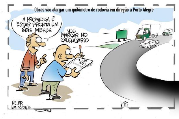 Iotti: obras em rodovia Iotti/Iotti
