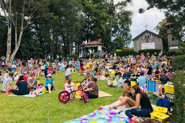 Piquenique Solidário reúne cerca de 3 mil pessoas em Caxias do Sul Fernando Soares/Agência RBS