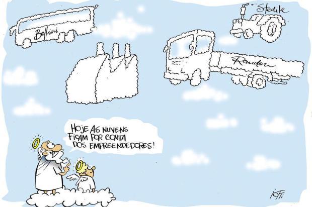 """Iotti: o céu de """"gigantes"""" Iotti/Iotti"""