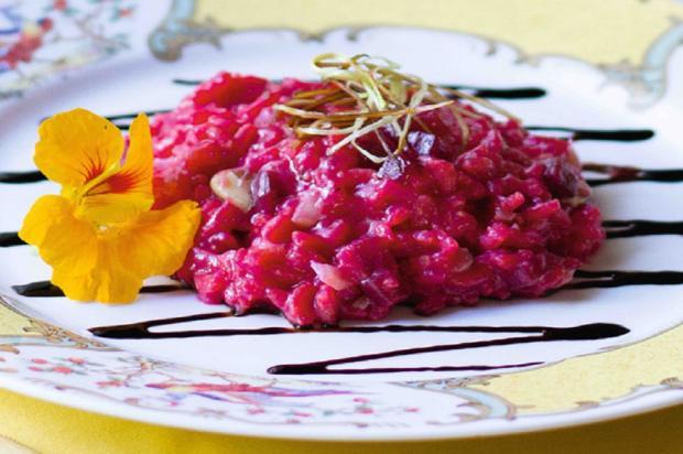 Na cozinha: faça risoto de beterraba com caramelo de balsâmico Nestlé / Divulgação/Divulgação