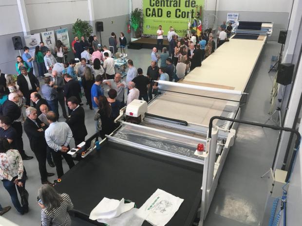 Cerca de 1 mil confecções na Serra poderão utilizar máquina de corte coletiva em Caxias do Sul Suelen Mapelli/Agência RBS