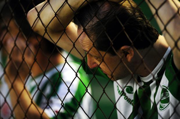 O Ju que não embalou após o acesso à Série B do Brasileiro Diogo Sallaberry / Agência RBS/Agência RBS