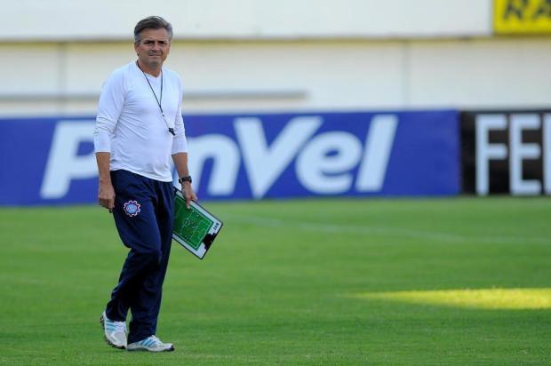 Técnico Luiz Carlos Winck elogia tarde dos estreantes no Caxias, na Série D Felipe Nyland/Agencia RBS