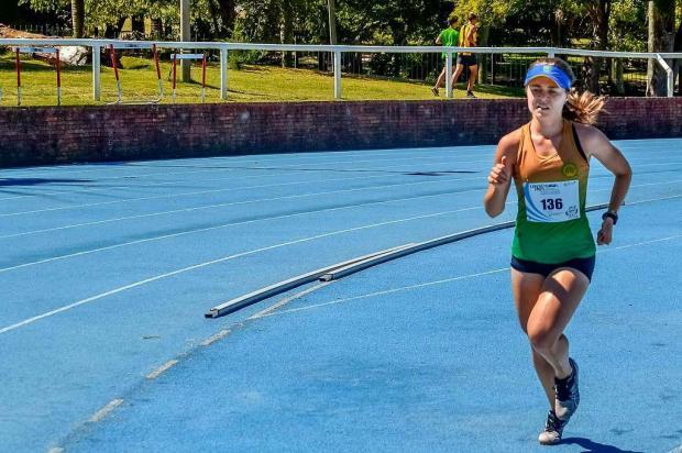 Bento-gonçalvense Hélen Spadari conquista título no Grand Prix de atletismo Divulgação/Divulgação