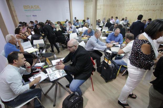 Movimento na Movelsul, em Bento Gonçalves, surpreende organizadores Augusto Tomasi/Divulgação