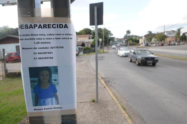 Corrente por menina desaparecida inclui buscas em áreas verdes de Caxias e troca de informações em redes sociais Porthus Junior/Agencia RBS