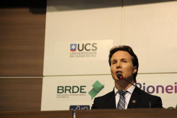 Em palestra na CIC, prefeito de Caxias do Sul promete não criar nem aumentar impostos Marcelo Casagrande/Agencia RBS