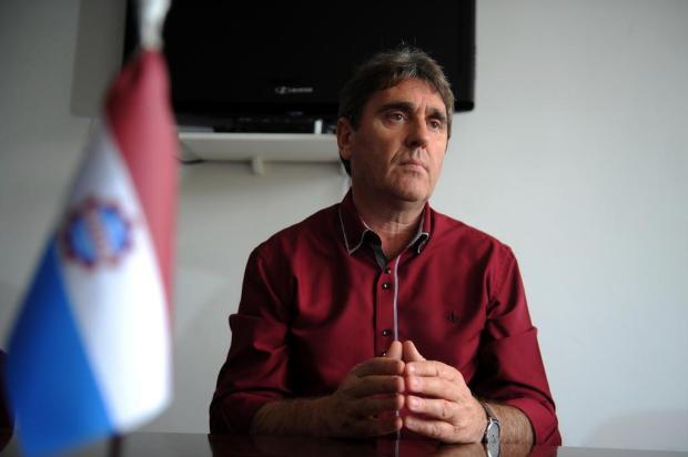"""""""A qualidade do time será sempre do tamanho do apoio da torcida"""", diz presidente do Caxias Felipe Nyland/Agencia RBS"""