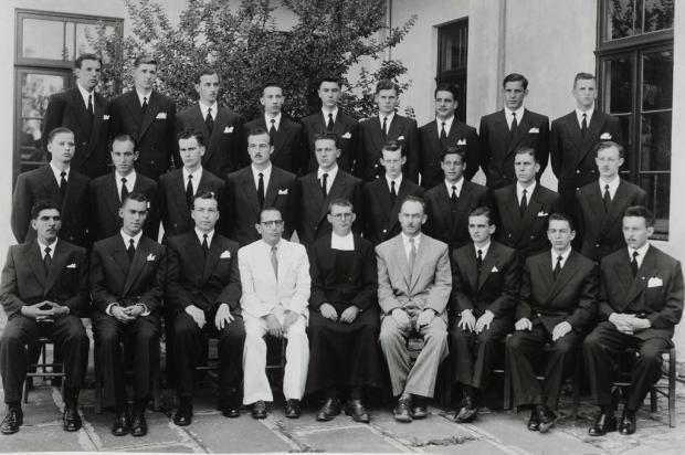 Memória: formatura de contadores do Carmo em 1948 Reprodução/Divulgação