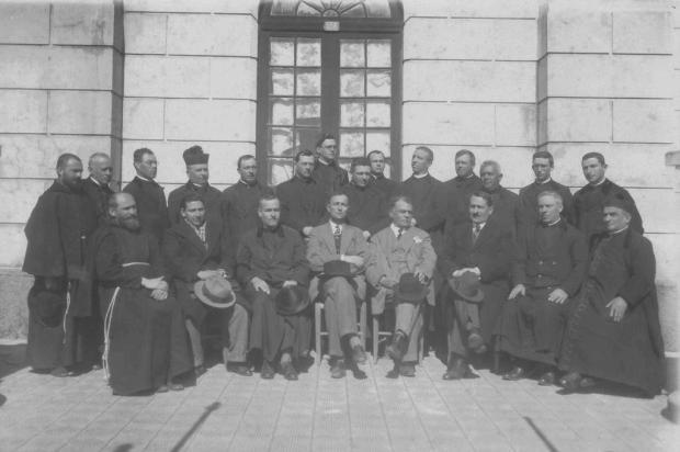 Memória: primórdios da Diocese de Caxias em 1931 Studio Geremia/Acervo Muscap,divulgação