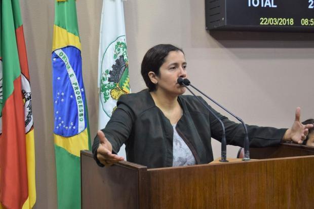 Vereadora explica que comissão não está envolvida na defesa de homem que confessou assassinato de Naiara, em Caxias Franciele Masochi/Assessoria de Imprensa