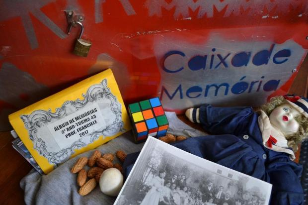 """Agenda: Exposição """"Caixas de Memórias"""" ocorre até dia 27 de abril, em Caxias Roger Ruffato/Divulgação"""
