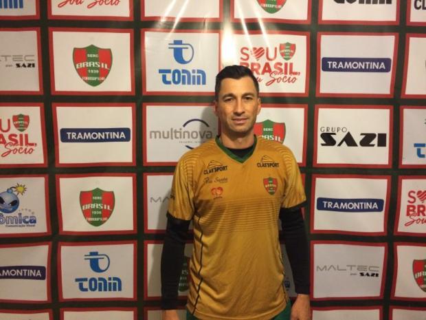 Alex Xavier assume o comando do Brasil-Fa na Divisão de Acesso Adriano Padilha / Brasil-Fa, Divulgação/Brasil-Fa, Divulgação