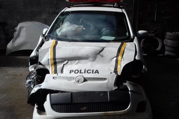 Após acidente em 2016, viatura da BM volta às ruas de Caxias do Sul Sul Peças/Divulgação