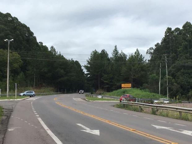 Obras do trevo de acesso a Fazenda Souza, em Caxias, serão retomadas na próxima semana Suelen Mapelli/Agência RBS