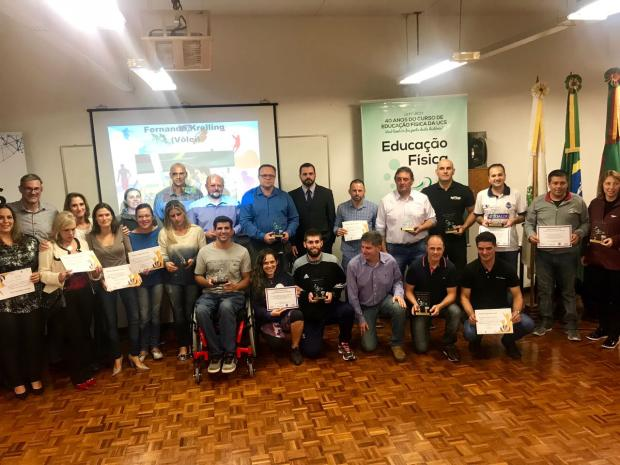 Mérito Esportivo premia os melhores de 2017 no esporte caxiense Jarbas Barros / Adesca, Divulgação/Adesca, Divulgação