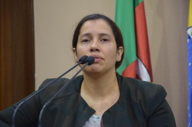 Vereadora quer criar vaga gratuita no transporte escolar em Caxias Franciele Masochi Lorenzett/Divulgação