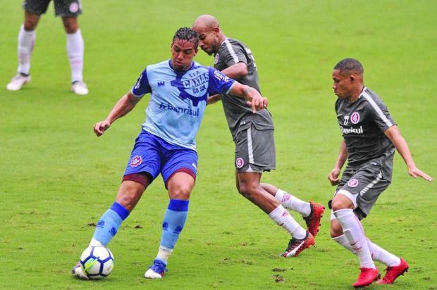 Caxias empata com Inter em primeiro teste da preparação para a Série D Robinson Estrásulas/Agencia RBS