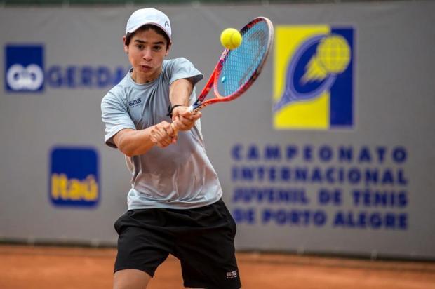 Tenista caxiense Gustavo Tedesco vai disputar o Sul-Americano até 14 anos no Equador Miriam Jeske/Heusi Action