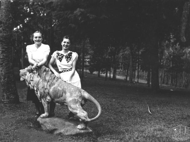 Memória: os leões de Michelangelo Zambelli no Parque Cinquentenário Acervo Arquivo Histórico Municipal João Spadari Adami / divulgação/divulgação