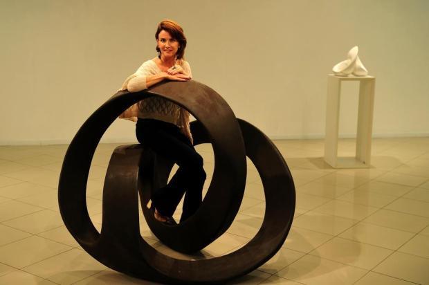 """""""Corpo Oculto"""": Elisa Zattera reflete sobre a existência humana em exposição na Galeria Gerd Bornheim, em Caxias Diogo Sallaberry/Agencia RBS"""