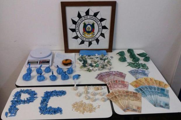 Após denúncias, Polícia Civil apreende 785 pedras de crack em Caxias do Sul Polícia Civil/Divulgação