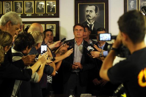 """""""É difícil ser patrão no Brasil"""", diz Jair Bolsonaro na CIC de Caxias do Sul Marcelo Casagrande/Agencia RBS"""