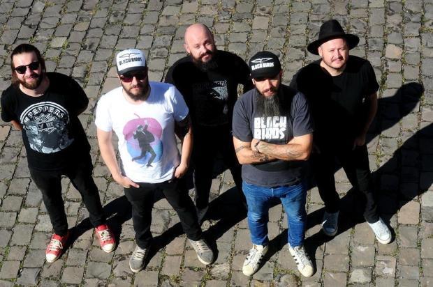 Banda Blackbirds grava DVD neste domingo, no Vale dos Vinhedos, em Bento Gonçalves Diogo Sallaberry/Agencia RBS