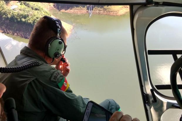 Bombeiros encerram buscas a três desaparecidos em Vacaria ANDERSON SILVEIRA DE LIMA/Divulgação