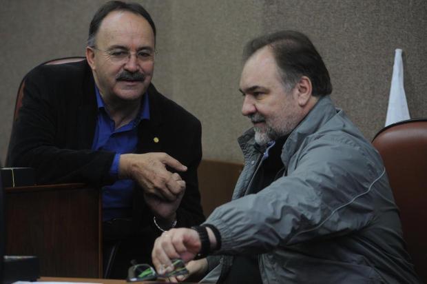 Mauro Pereira e Carlos Búrigo são confirmados como pré-candidatos pelo PMDB de Caxias Jonas Ramos/Agencia RBS