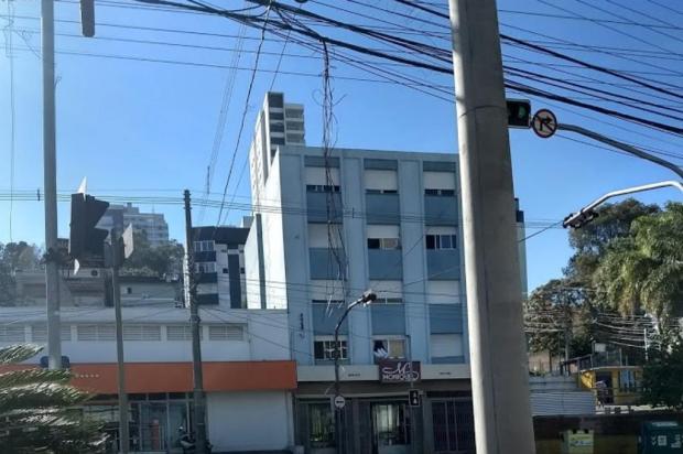 A esquina dos fios caídos em Caxias do Sul Ciro Fabres Neto/Agência RBS