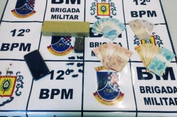 Homem é preso com maconha e cocaína em Caxias 12 BPM/Divulgação