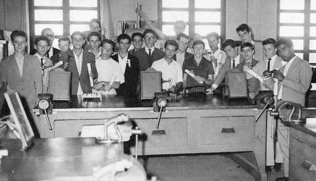 Memória: encontro dos formandos de 1963 do Senai Acervo pessoal / divulgação/divulgação