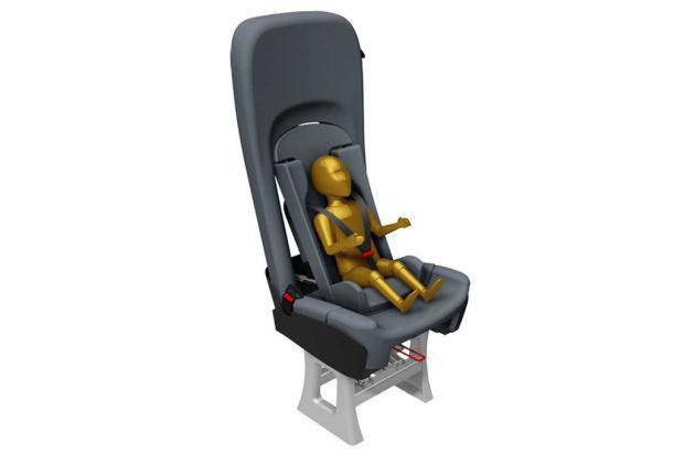 Empresa caxiense desenvolve poltrona para transporte de crianças em vans e ônibus Artali Indústria Metalúrgica / divulgação/divulgação