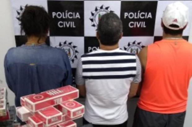 Dois homens e uma mulher são presos por tráfico de drogas em Caxias do Sul Polícia Civil/Divulgação