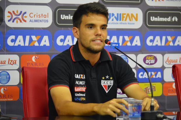 Volante Rodrigo é mais um reforço do Juventude para a disputa da Série B Paulo Marcos / Assessoria ACG, Divulgação/Assessoria ACG, Divulgação