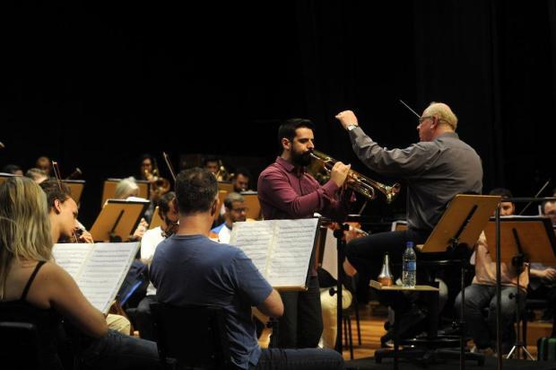 Orquestra Sinfônica da UCS destaca trompete em concerto nesta quinta, em Caxias Marcelo Casagrande/Agencia RBS