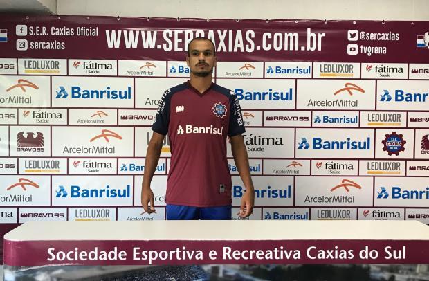 Meia Mikael destaca que Caxias não pode estar na Série D e precisa subir neste ano Cristiano Daros / Pioneiro/Pioneiro