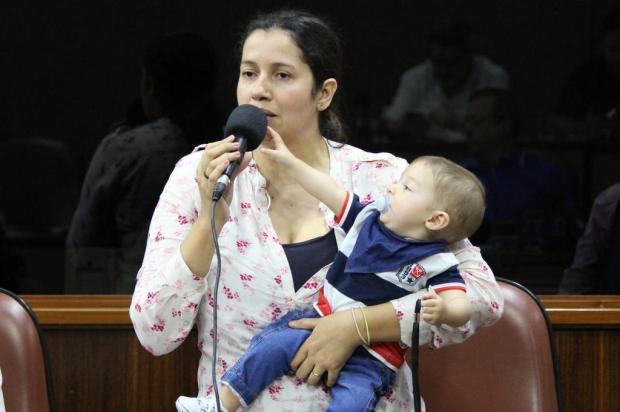 Câmara aprova projeto que permite doulas em partos nos hospitais de Caxias Franciele Masochi Lorenzett/Divulgação