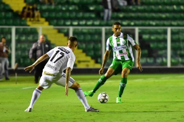 Jogadores do Juventude lamentam erros na derrota, mas enaltecem melhora no segundo tempo Arthur Dallegrave/Juventude,divulgação