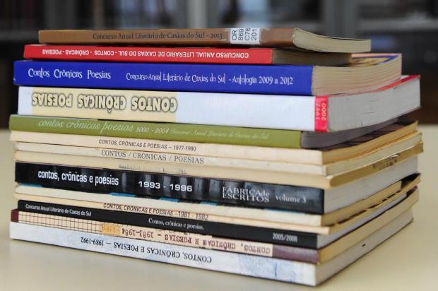 Agenda: 52º Concurso Anual Literário de Caxias do Sul recebe inscrições até esta segunda Jonas Ramos/Agencia RBS
