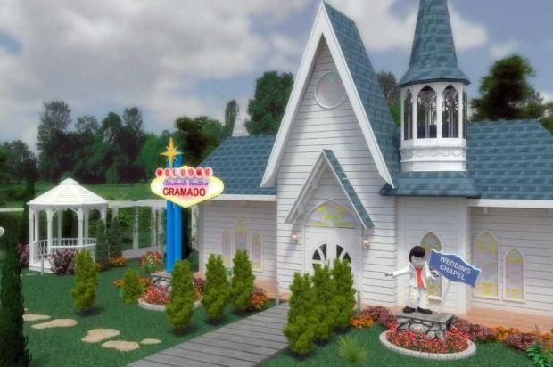 Gramado terá espaço temático para casamentos ao estilo Las Vegas Dreams Entertainment Group/reprodução