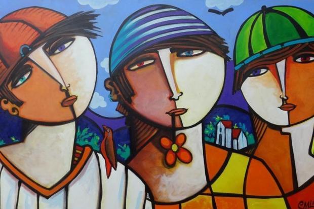 """Agenda: Exposição """"Meninas e Meninos"""" pode ser conferida até o dia 20 de abril, em Caxias Arte de Marcos Leal/Reprodução"""