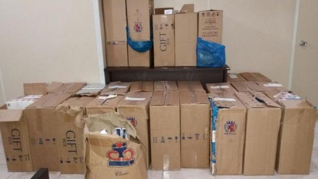 13 mil carteiras de cigarros são apreendidas em Canela Brigada Militar/Divulgação