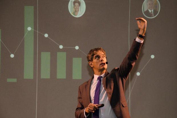 Debatedor do programa Manhattan Connection, Ricardo Amorim volta à Serra nesta semana Tatiana Cavagnolli/divulgação