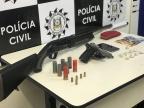 Polícia Civil prende mulher que guardava armas para facção de Caxias do Sul Polícia Civil / Divulgação/Divulgação