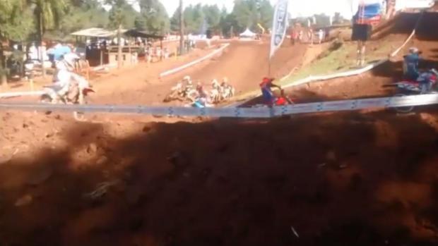 Piloto morre durante etapa do Campeonato Gaúcho de Motocross em Gramado Divulgação/Divulgação