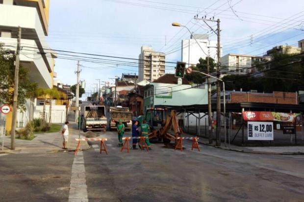 Centro de Caxias é prioridade na troca de tubulação de água Astério Chiomento/Divulgação