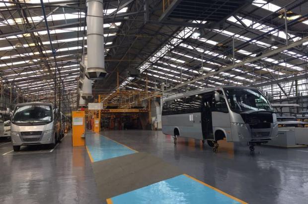Marcopolo adia transferência das atividades da fábrica no bairro Planalto, em Caxias Mauricio Tonetto/Agencia RBS