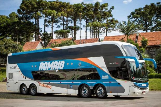 Agência caxiense investe em ônibus para turismo rodoviário Romajo/divulgação